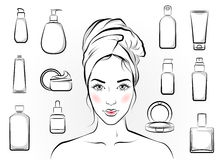 Organic Cosmetics Symbol For All Natural Skin Care