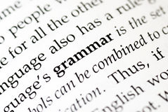 Grammar stock photo. Image of school, mark, mistake, paper