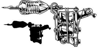 Tattoo Machine Stock Illustrations