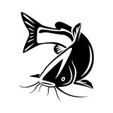 Catfish Silhouette Stock Illustrations