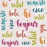 International Languages Hello Stock Photo Image 45434660