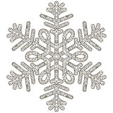 Antistress Snowflake. Template For Cover, Poster, T-shirt