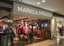 Marks and Spencer editorial stock photo. Image of spencer - 34016793