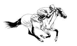 Harness Racing Stock Illustrations