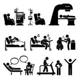 Health icon set stock vector. Illustration of illustration