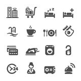 Bed And Breakfast Icon Logo Royalty Free Stock Photos