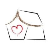 Download Home Heart Logo stock vector. Illustration of heart ...