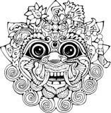 Illustration De Vecteur De Tête De Hanuman Illustration de