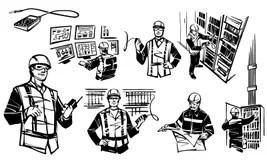 Engineers Stock Illustrations