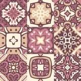 Piatti Dipinti A Mano Di Ceramica Marocchini Immagine Stock  Immagine di retail indigeno 4293151