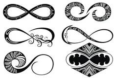 Amore Di Infinito, Per Sempre Simbolo Illustrazione