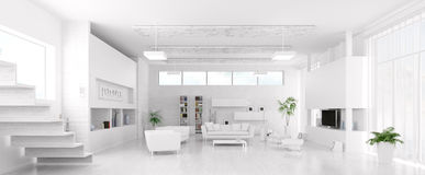 pictures of modern white living rooms decor room ideas interior 3d render stock illustration panorama vector