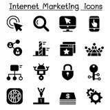 Internet, Website, Shopping Online Icon Stock Illustration