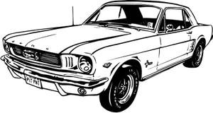 Mustang Stock Illustrationer, Vektorer, & Clipart