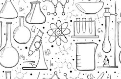 Chemistry, Science, Chemical Elements Stock Vector