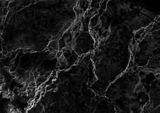 le marbre noir a modele le fond de