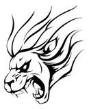 Soccer Lion Mascot stock vector. Illustration of body