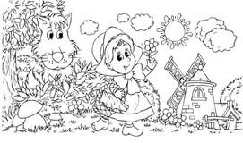 Thumbelina stock illustration. Illustration of cartoon