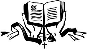 Pregare clipart delle mani illustrazione di stock