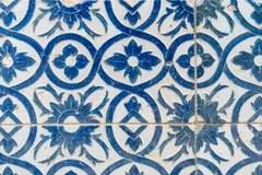 Piastrelle Di Ceramica Spagnole Di Stile Dellannata Immagine Stock  Immagine di weathered