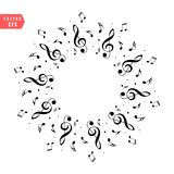 Music Notes EPS stock vector. Illustration of band