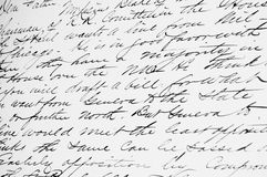 Cursive Handwriting Stock Photos, Images, & Pictures