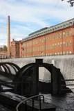 industrial factory stock