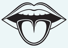 Tongue Clipart Black And White