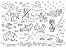 Inuit child stock illustration. Illustration of yupik