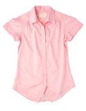 Pink woman shirt Stock Photography