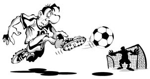 Funny Cartoon Goalkeeper Stock Photos, Images, & Pictures