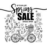Bike poster background 2 stock vector. Illustration of
