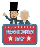 presidents day stock vector. illustration