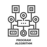 Simple algorithm stock illustration. Image of flow
