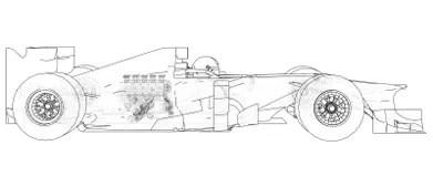 Formula1 Stock Illustrations