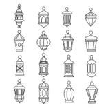 Antique Lantern Stock Illustrations