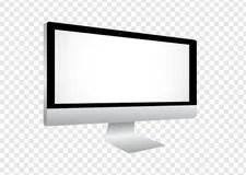 Laptop Moderner Computer Auf Transparentem Hintergrund