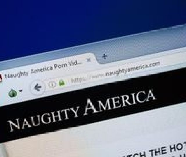 Ryazan Russia August   Homepage Of Naughty America Website On The