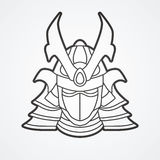 Samurai Mask Stock Illustrations