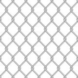 Royalty Free Stock Photo: Seamless Chainlink Fence. Image