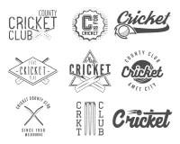 Cricket Bat Emblem stock vector. Image of australia