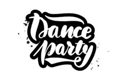 Private party vector label stock vector. Illustration of