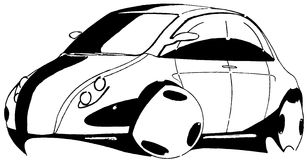 Car Sedan And Suv Drawing Outlines Not Converted To