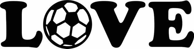 Download I love soccer stock vector. Illustration of packing ...