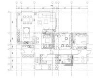 Sauna Plan View With Standard Furniture Symbols Stock