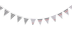 Cupcake Background Panel And Bunting Royalty Free Stock