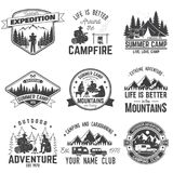 Camp Stock Illustrations