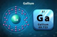 Symbole Et Bore De Diagramme D'électron Illustration de Vecteur  Image: 59751216
