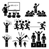 Classroom Student Duty Roster Clipart Stock Vector