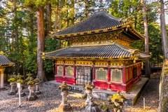ToshoguSchrein Nikko Japan Stockfoto  Bild von frost shogun 49635874